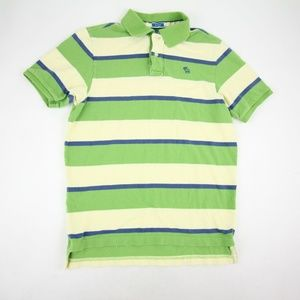 Abercrombie & Fitch Men's Muscle Polo Shirt Size L